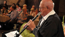 Audio «Klarinettist Leo Kälin feiert ein aussergewöhnliches Jubiläum» abspielen