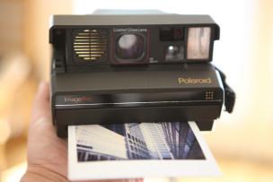 Laschar ir audio «70 onns Polaroid».