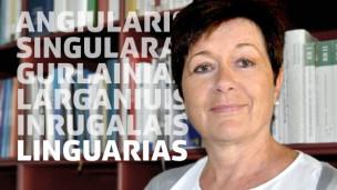 Laschar ir audio «Linguarias – Il kiosc – in pled en viadi».