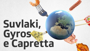 Laschar ir audio «Suvlaki, Gyros e Capretta – «Tagliatelle»».