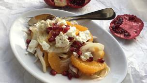 Audio «Granatengut! – Granatapfelsalat mit Fenchel, Orange und Feta» abspielen.