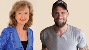 Audio «Zwei mit Unterhaltungsgen: Ruth Biberstein und Marco Büchel» abspielen.