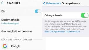 Audio «Smartphone-Ortung: So haben Sie den Dienst unter Kontrolle» abspielen.