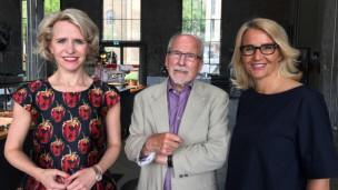 Audio «Die Aussenministerin und der Fremdenlegionär: Aurelia Frick und Peter Eggenberger» abspielen.