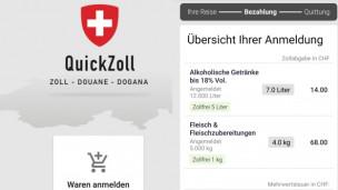 Audio ««Quick Zoll»: Die Anti-Schmuggel-App» abspielen.