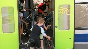 Audio «Velotransport mit dem Zug - was muss ich beachten?» abspielen.