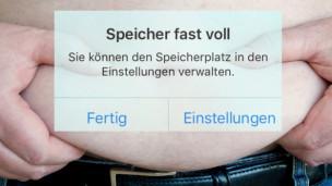 Audio «Hilfe, mein Smartphone ist zu dick!» abspielen.