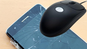 Audio «Hier kommt die Maus: Abhilfe bei zersplittertem Smartphonedisplay» abspielen.