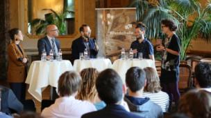 Audio «Talk in der Wandelhalle: Engagierte Jugend» abspielen.