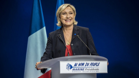 Laschar ir audio «Marine Le Pen».