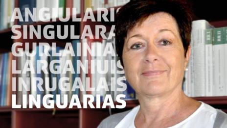 Laschar ir audio «Linguarias – Aha! – in avra-egls u in mument d'aha».