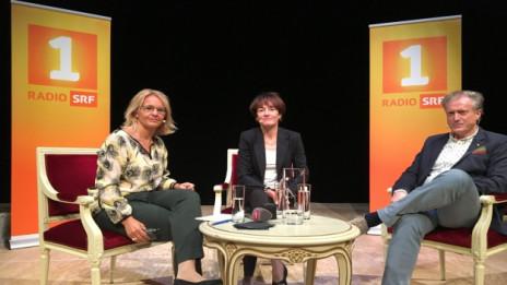 Audio «Chef und Chefin: Herbert Bolliger und Franziska Tschudi» abspielen.