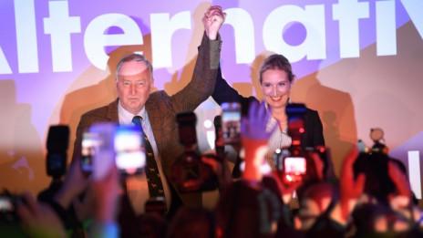 Audio «Deutschland: AfD und FDP sind Gewinner der Wahl» abspielen.