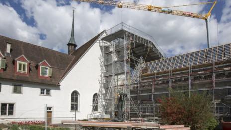 Audio «Haben die Klöster in der Schweiz eine Zukunft?» abspielen.