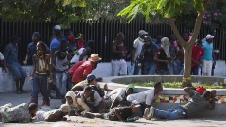 Audio «Proteste gegen die Regierung in Haiti» abspielen.