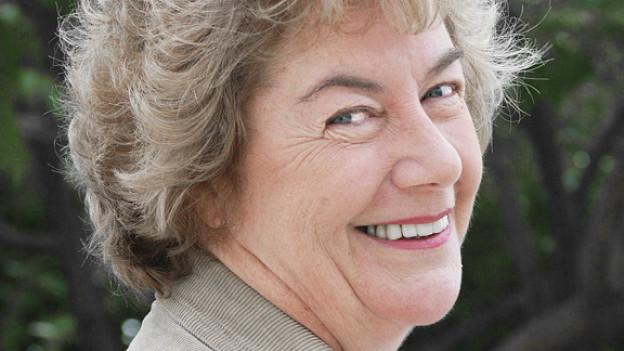 Die Bestseller-Autorin Nuala O'Faolein.
