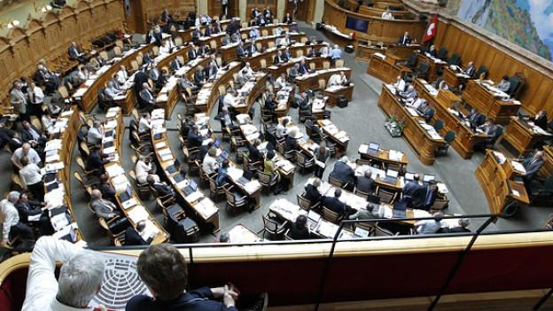 Wer sitzt wo im Nationalratssaal?