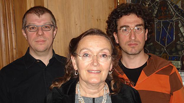 Markus Gasser, Annelies Häcki Buhofer, Lorenz Hofer