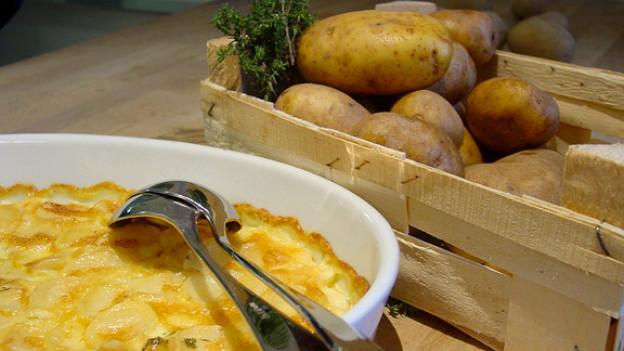 Kartoffelgratin - lecker und preiswert.