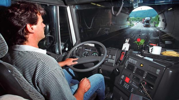 Lastwagen-Chauffer ist oft ein einsamer Job.
