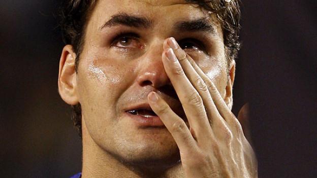 Roger Federer an den Australian Open 2009.