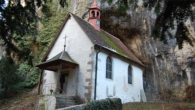 Kapelle Sankt Martin in der Verenaschlucht.