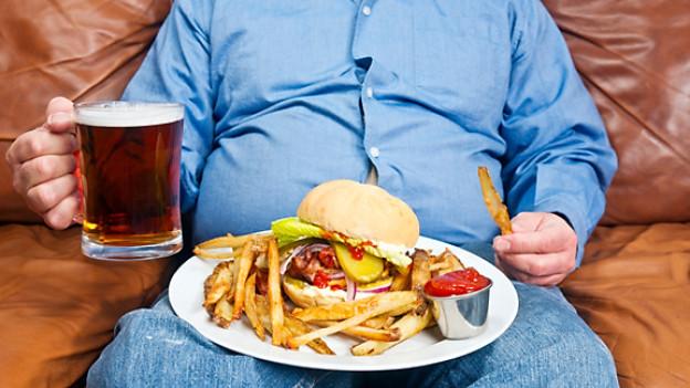 Übergewicht als Zivilisationskrankheit.
