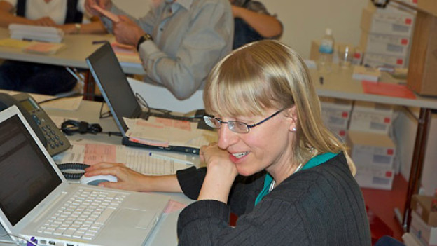 Andrea Fraefel arbeitet seit 2005 für die Glückskette.