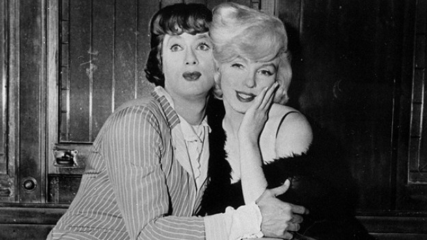 Toni Curtis und Marylin Monroe in «Some like it hot»