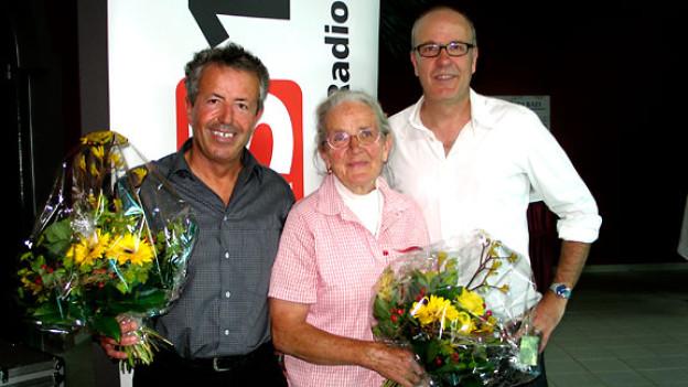 Hans Spring und Arlette Grichting haben Daniel Hitzig ins alte, heutige und künftige Leukerbad blicken lassen.