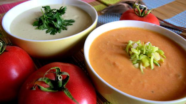 Kalte Suppen erfrischen, kühlen und nähren.