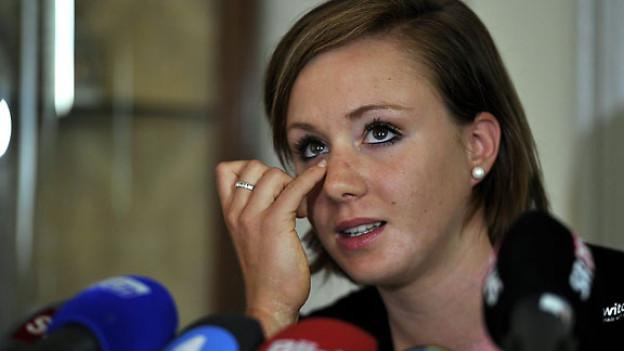 Unter Tränen gab Ariella Käslin jüngst ihren Rücktritt als Profi-Turnerin bekannt.