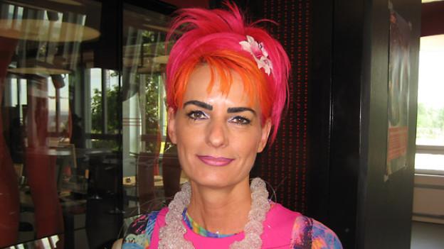 «Treffpunkt»-Gast Cordelia Hagi berät Firmen in Image-Fragen.