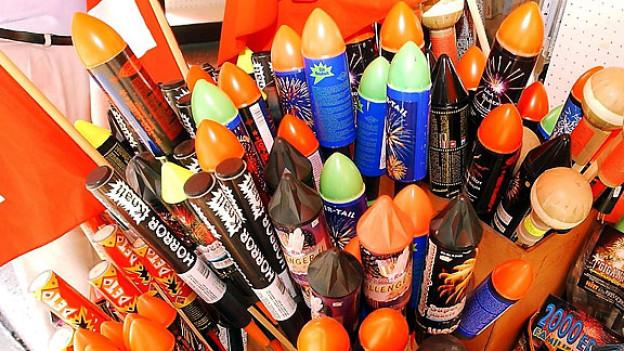 Raketen lassen zum 1. August nicht nur Kinderherzen höher schlagen.