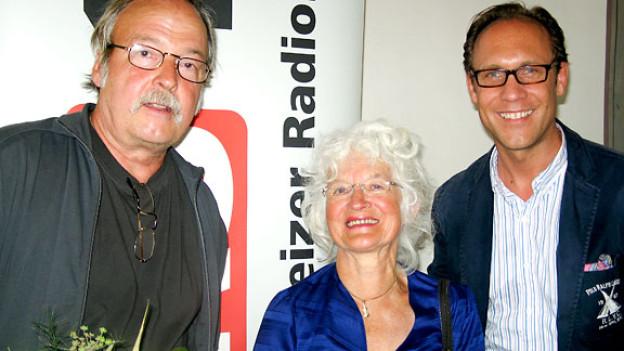 Jürg U. Ernst, Ursula Michel und Christian Zeugin.