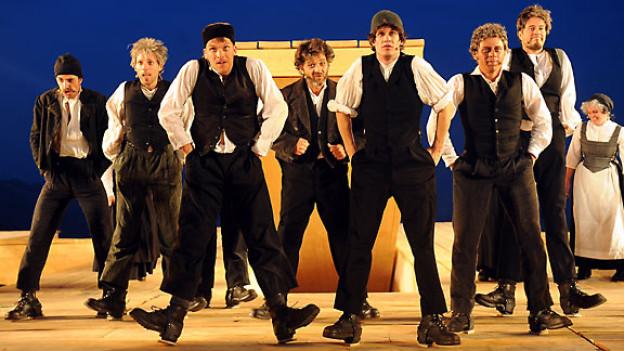 Szenenbild aus «Gotthelf» - das Musical.