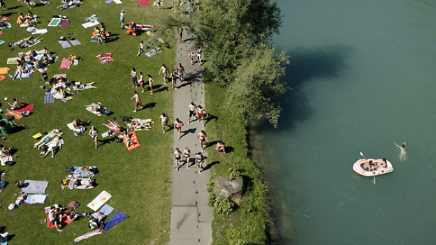 Marzili-Bad an der Aare in Bern.