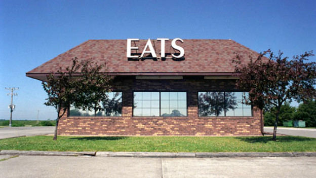 Kulinarisches Grundangebot in Eddyville, Iowa.