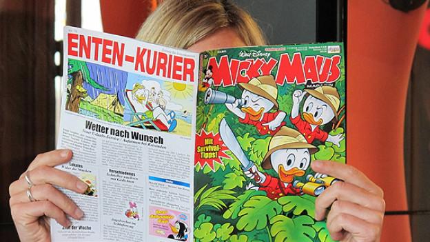 Abtauchen in die Welt von Micky Maus & Co.