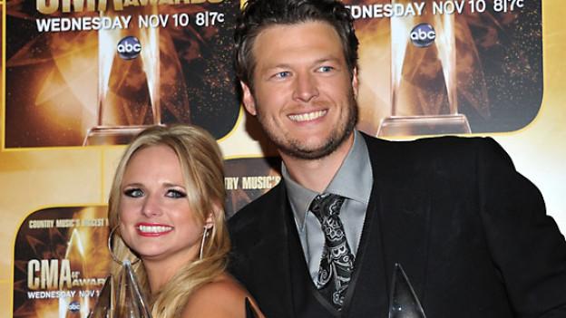 Miranda Lambert und Blake Shelton bei den Country-Music-Awards in Nashville, November 2010.