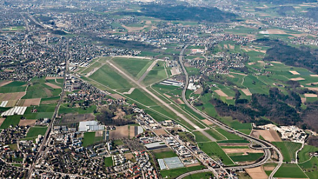 Flugplatz Dübendorf.