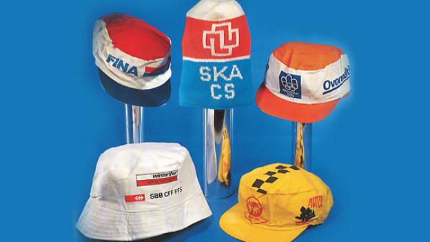 Kinder werden durch bedruckte Kopfbedeckungen zu freiwilligen Werbeträgern.