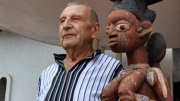 René David: Museumsbesitzer in Togo.