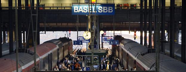 Beim Basler Bahnhof gibts kein Perron 13.