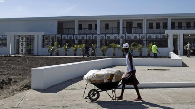 2 Jahre danach: Wiederaufbau in Haiti.