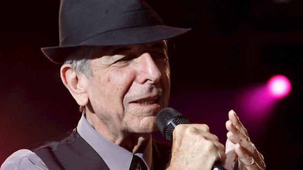 Leonard Cohen, 2008.