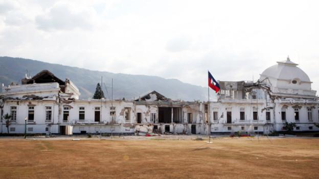 Das Regierungsgebäude in Haiti, aufgenommen im Januar 2012.