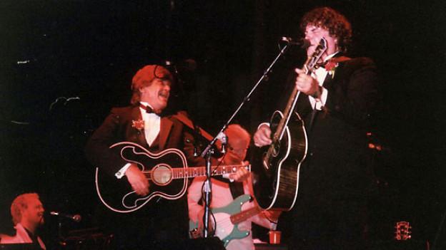 The Everly Brothers: Don (rechts) und Phil bei einem Konzert, 2006.
