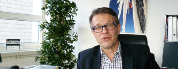 Rolf Schmid, CEO des Bergsportausrüsters «Mammut».