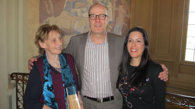 Verena Stauffer, Daniel Hitzig, Sarah Montani